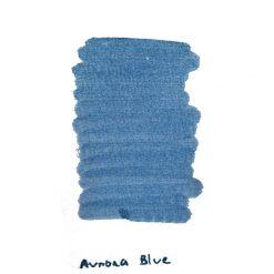 Aurora Blue Ink Sample