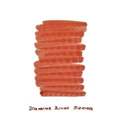 Diamine Burnt Sienna Ink Sample