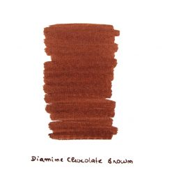 Diamine Chocolate Brown Ink Sample