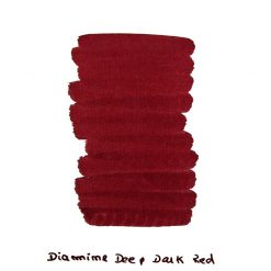 Diamine Deep Dark Red Ink Sample