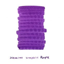 Diamine Imperial Purple Ink Sample