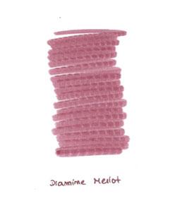 Diamine-Merlot-ink