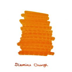 Diamine Orange Ink Sample