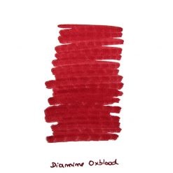 Diamine Oxblood Ink Sample