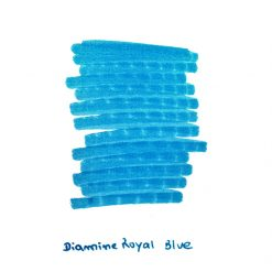 Diamine Royal Blue Ink Sample