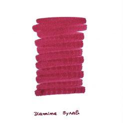 Diamine Syrah Ink Sample