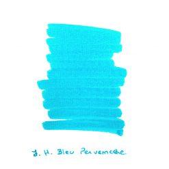 J Herbin Bleu Pervenche Ink Sample