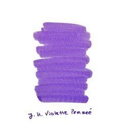 J Herbin Violette Pensee Ink Sample