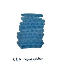Rohrer & Klingner Konigsblau Ink Sample
