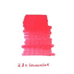 Rohrer & Klingner Fernambuk Ink Sample