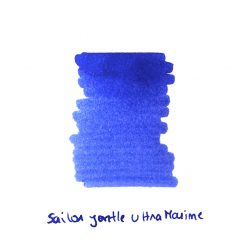 Sailor Jentle Ultra Marine Ink Sample