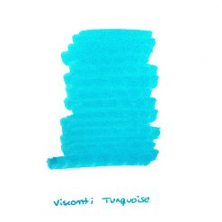 Visconti Turquoise Ink Sample