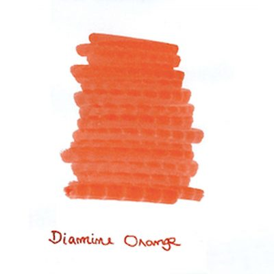 Introducing The Diamine Orange Ink Sample