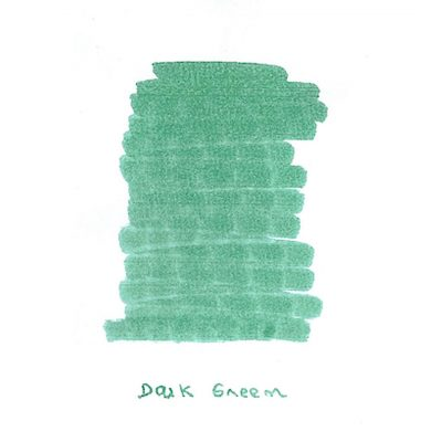 Now Available: InexPens Dark Green Ink Sample