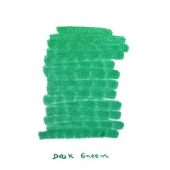 InexPens Dark Green Ink Sample