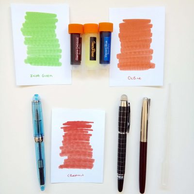 Rewriting #1: Fountain Pens and Ink Spotlight 1