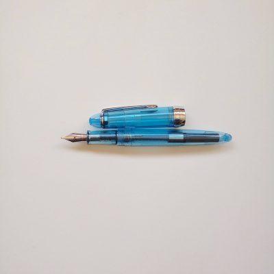 New Arrival: Jinhao 992 Demonstrator Blue Fountain Pen