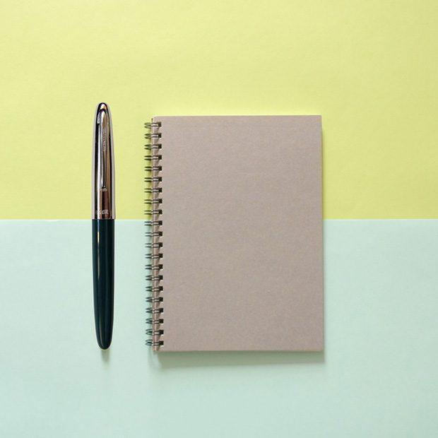 Writing with Hero-366-Fountain-Pen