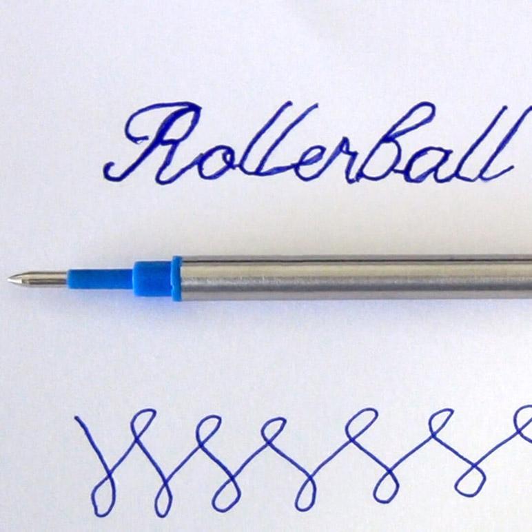 Blue-Rollerball-Refills-writing-sample