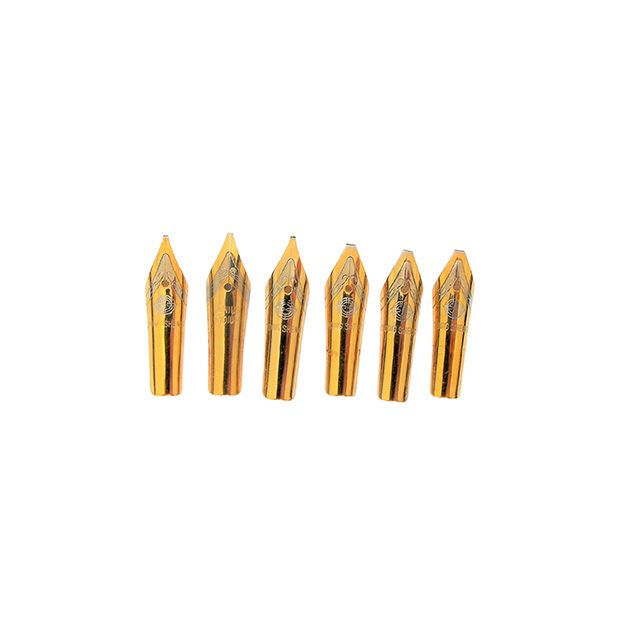 Custom-Stub-Gold-Plated-Nibs