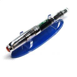Blue Acrylic Pen Holder For 1 Pen