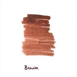 InexPens Brown Ink Sample