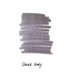 InexPens Dark Grey Ink Sample