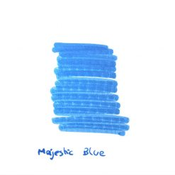 InexPens Majestic Blue Ink Sample