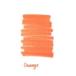 InexPens Orange Ink Sample