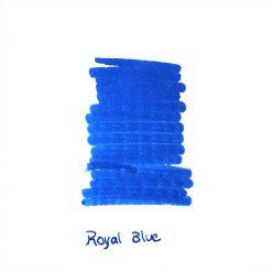 InexPens Royal Blue Ink Sample