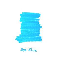 InexPens Sea Blue Ink Sample