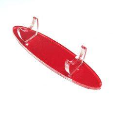 Red Acrylic Pen Holder For 1 Pen